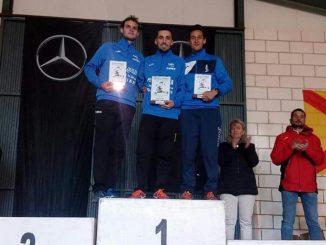 María Hurtado subcampeona y tercer puesto para Raúl Parra en el Campeonato de Extremadura Campo a Través