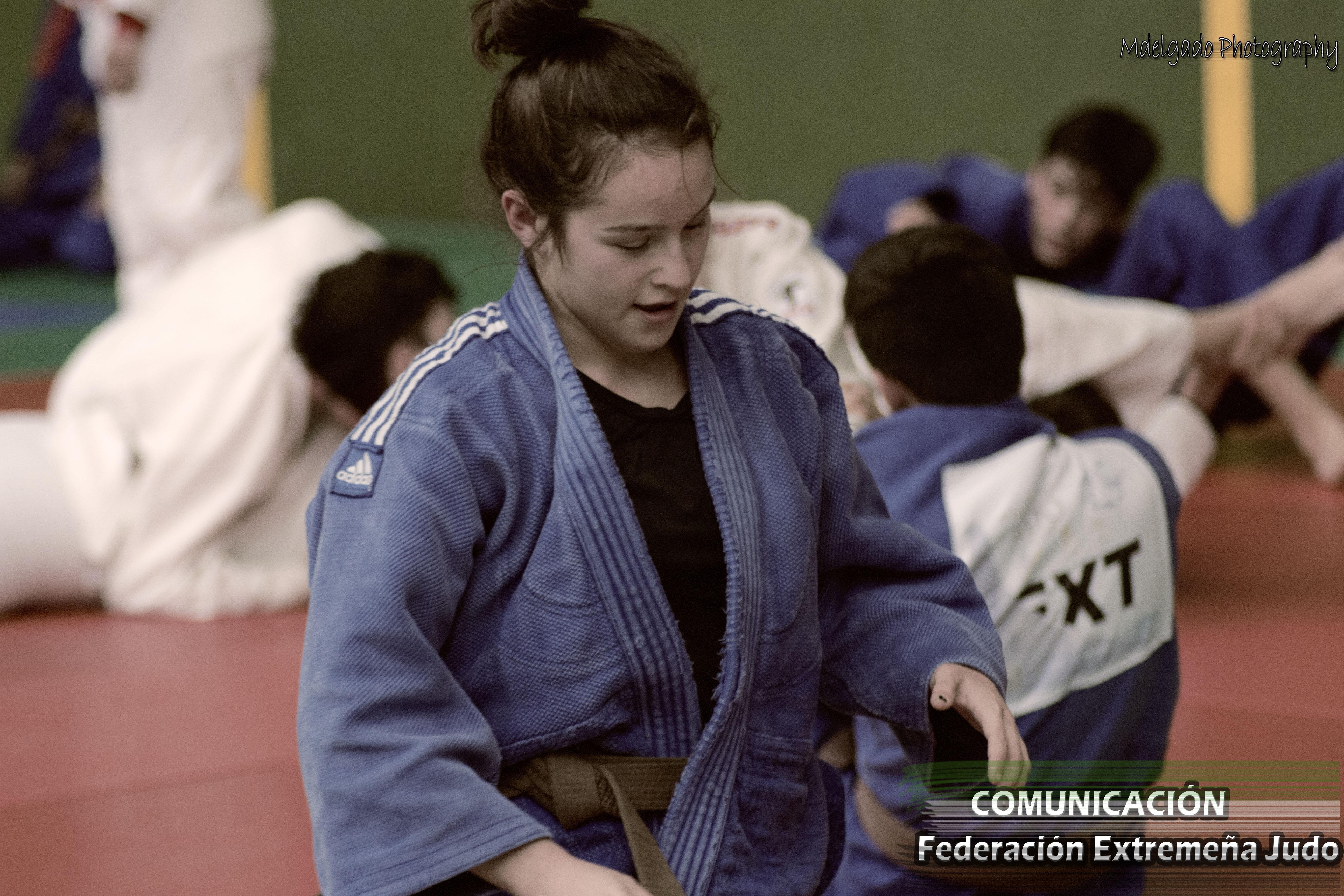 MARIA BOHORQUEZ - Nueve Extremeños clasificados para la final del Campeonato de España Júnior de Judo