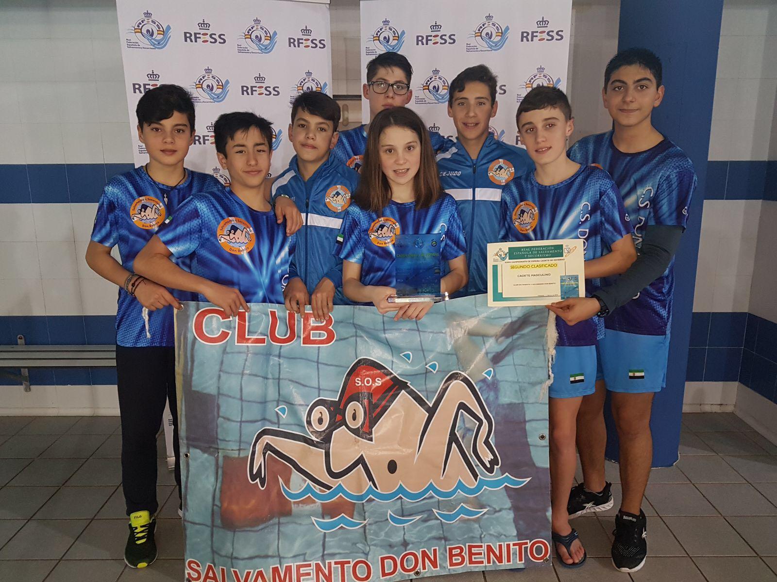 Subcampeonato de España por Equipos en Cadete Masculino y dos platas en Relevo Obstáculo y Arrastre