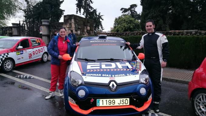 Mala suerte para Manuel Reyes y María del Mar Espinar en el Rallye Sierra Morena