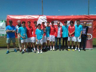 """Casino de Badajoz en Femenino y Cabezarrubia en Masculino campeones Junior por equipos en el """"TROFEO AON"""""""