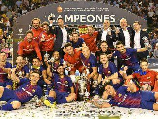 El FC Barcelona Lassa se proclama campéon de la Copa del Rey de Fútbol Sala en Cáceres