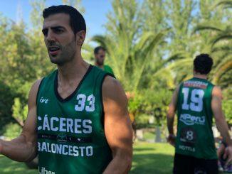 El Cáceres continúa su preparación antes del choque frente al Betis