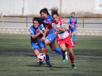 Goleada del Liberbank Santa Teresa Badajoz en su visita al Extremadura UD   0-4