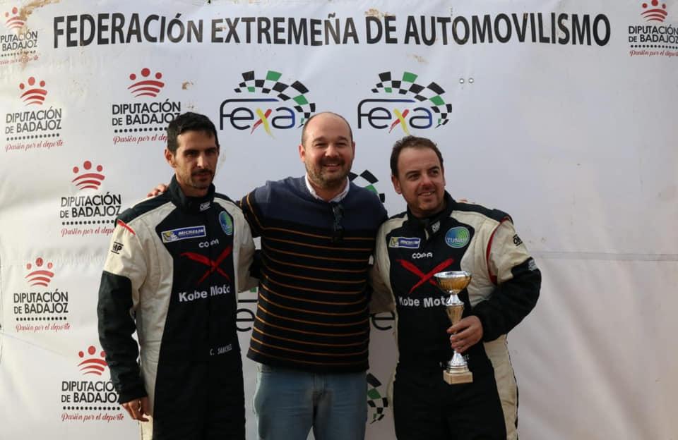 Pedro Manuel Hernández y Cándido Sánchez quintos en Zafra