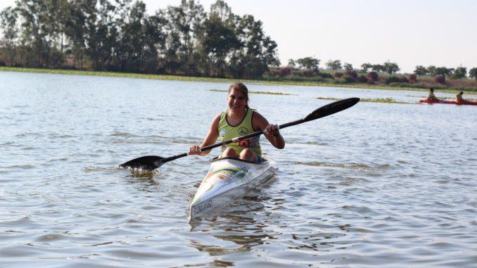 Elena Ayuso compite este fin de semana en el Open Interterritorial de Piragüismo de Castilla–La Mancha